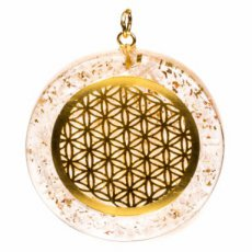 Orgon hanger Flower of Life Seleniet